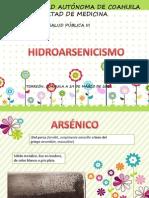 HIDROARSENICISMO CRÒNICO REGIONAL ENDÈMICO