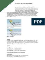 How to Migrate BI 3.x to BI 7.0