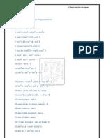 Ejercicios de Identidades Trigonométricas