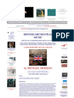 British Orchestral Music 1