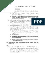 Company's Profit (Wp) Act,1968