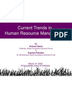 Current Trends in Hrm