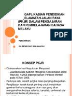 Pengaplikasian Pendidikan Keselamatan Jalan Raya (Pkjr)