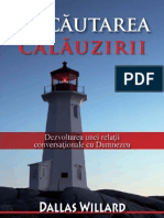 In cautarea calauzirii - Dallas Willard