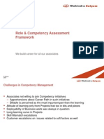 Role Based Competency Assessment Framework