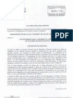 Proposición No de Ley Residencia de Montequinto