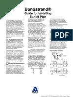 Guide for Installing RTR Pipe Courtesy Bondstrand for Info