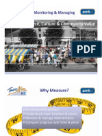 Monitoring; Managing Town Commerce, Culture and Community Value