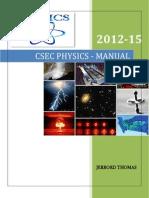 Csec Physics Manual 2012-15