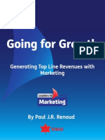 Going for Growth Paul Renaud Leaders in Marketing