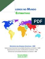 Brasileiros No Mundo 2011 - Estimativas - Terceira Edicao - V2