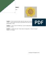 Flor de siete pétalos (punt de llibre)