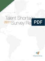 2011 Talent Shortage Survey