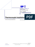 Thermocouple Installation Procedure
