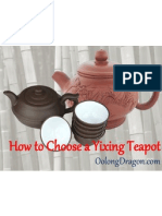 How to Choose a Yixing Teapot