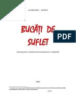 BUCĂŢI    DE    SUFLET (MONOLOG)