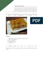 Empanada de Hojaldre de Jamón y Queso