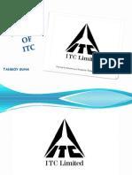 BCG Matrix on ITC