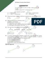 www.myengg.com / JEE Main Chemistry model Paper 6