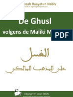 Hoe verricht ik de Ghusl volgens de Maliki Madhab