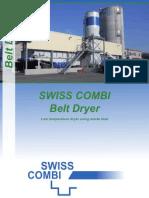 Swiss Combi Belt Dryer