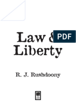 Rushdoony Law and Liberty