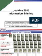 Brifing Nova Doktrina Us Army Do 2015