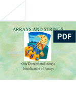 Unit 2 Arrays and Strings