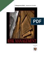 Enterprise Risk Management (Summary)