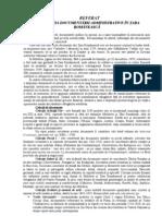 Evolutia documentarii administrative in Tara Romaneasca