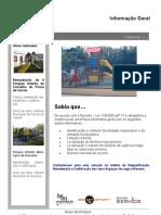 Informação geral de Parques Infantis - Placa Informativa Geral