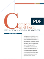 Competitividad en el Peru