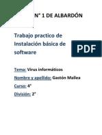 Trabajo práctico de Instalació básica de software.