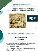 Aula Teorica 4 CRP e Estado de Direito