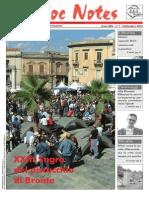 Bloc Notes Settembre 2012