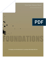 Foundations - Week 1 and 2
