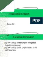 Postcolonial Criticism Spring 2011