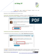 Wordpress Registrazione