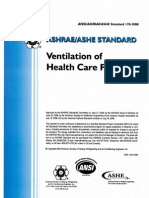 ASHRAE STandard 170-2008 (Ventilation of Health Care Facilities)