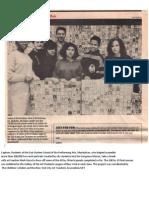 GorgeousMosaicProject EHPAS.students.withTeacher, Mark Gura UFT.bulletin1991