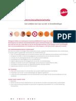 Leaflet Verzuimadministratie