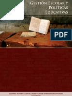 Gestión Escolar y Políticas Educativas
