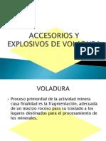 Accesorios y Explosivos