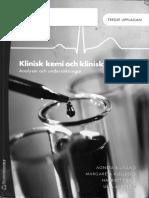 Klinisk kemi och klinisk fysiologi - Bjuväng