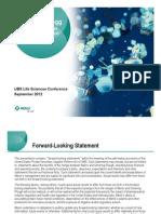 Merck UBS Presentation 09-19-2012