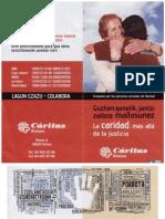 Cáritas 20120930 Personas privadas de libertad