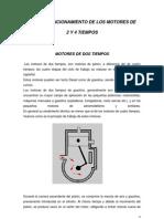 Ciclo y Funcionamiento de Los Motores de 2 y 4 Tiempos