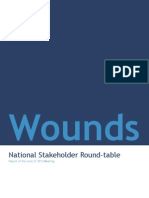 WOUNDS National Stakeholder Round-Table Report