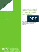 RSE - Cuaderno sobre la RSE interna