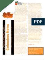Columbus Elementary School News October 2012